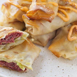 Reuben Egg Rolls Recipes