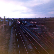 Photo: Charlbury station from the down home signal (1970?)