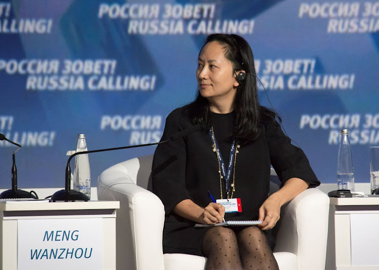 Meng Wanzhou attends a session of the VTB Capital Investment Forum 'Russia Calling!' in Moscow, Russia, in the file photo from October 2 2014. Picture: REUTERS/ALEXANDER BIBIK