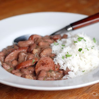 Red Beans and Rice with Kielbasa