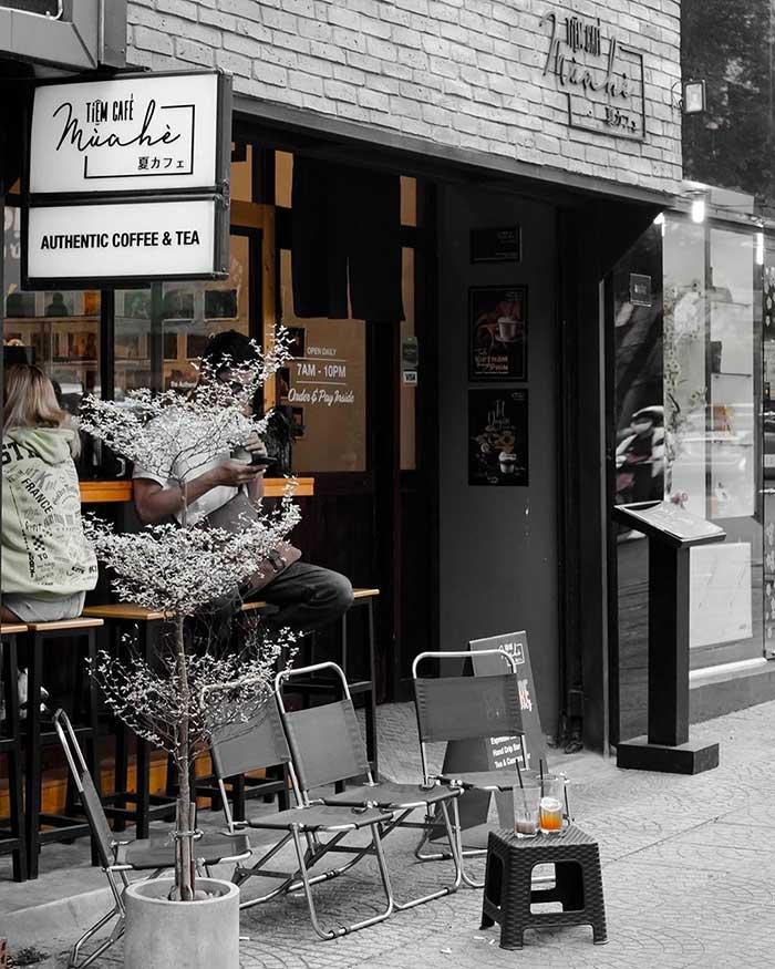 Sơn hiệu ứng Waldo-Không gian tiệm Cafe mùa hè