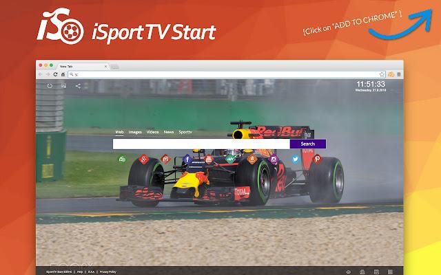 iSportTV Start chrome extension