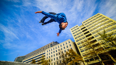 Photo: Fun meeting up with a friend who was in town making a PARKOUR videohttp://youtu.be/4-nDgBVXCeM