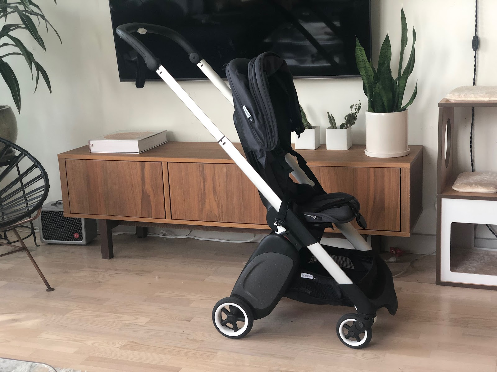 bugaboo ant stroller review: upright position