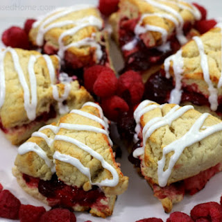 Raspberry Scones and Southern Style Holiday Entertaining