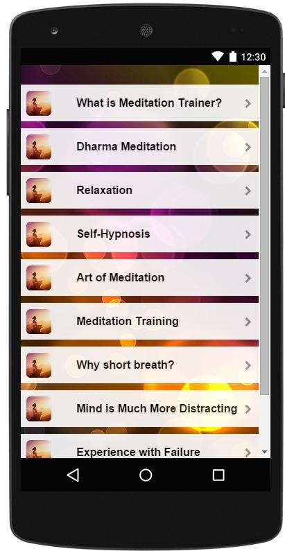 Meditation Trainer Wiki Guide- screenshot