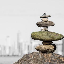 Stone Pile by Rqserra Henrique - Artistic Objects Still Life ( rock, rocks, pile, sculpture, rqserra, stone )