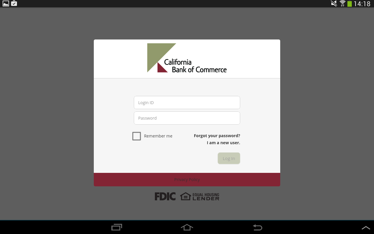 CBC Mobile Banking- screenshot