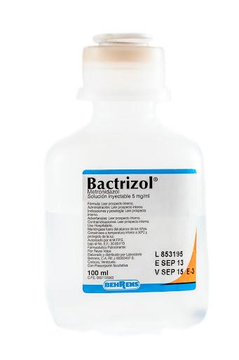 Metronidazol Bactrizol 500 mg / 100 ml Solución Inyectable