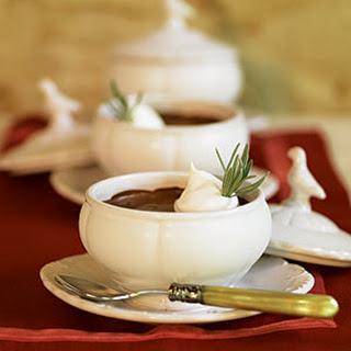 Chocolate-Espresso Pots de Crème