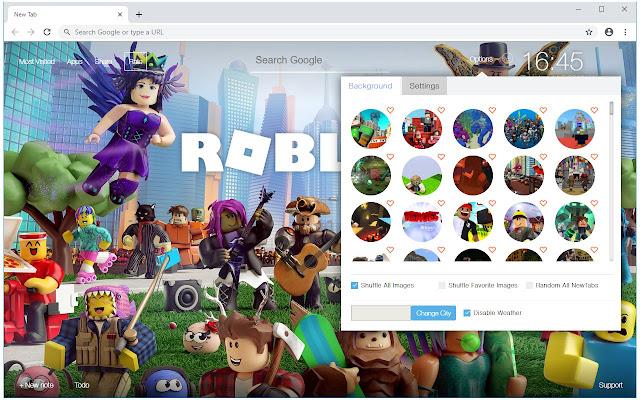 Roblox Vs Minecraft Wallpapers Custom New Tab