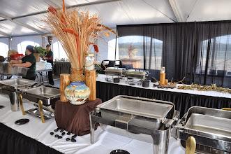 Photo: buffet set up for dinner