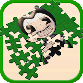 Bendy Ink Puzzle Kids