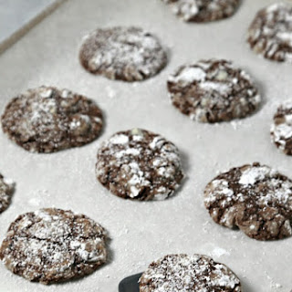 Boozy Black Forest Cookies