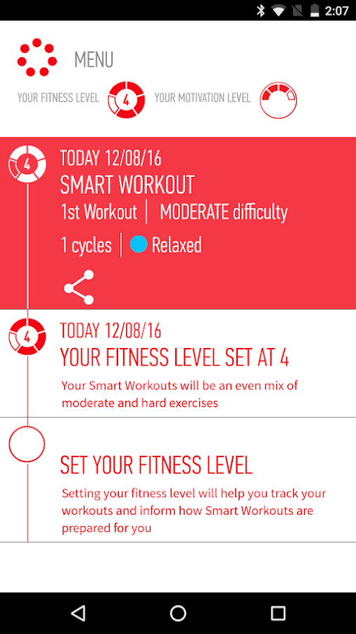 J&J Official 7 Minute Workout- screenshot