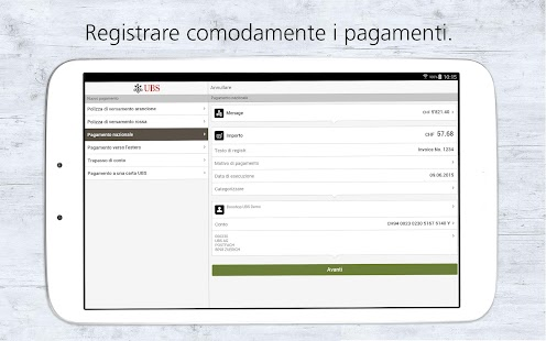 UBS Mobile Banking- miniatura screenshot