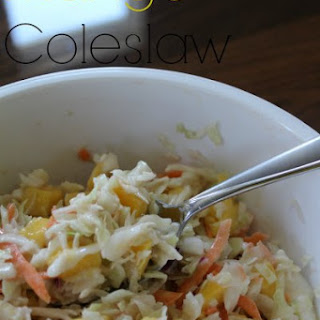 Mango Coleslaw