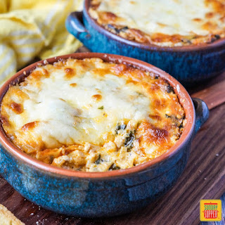Chorizo Cheese Dip with Spinach Recipe