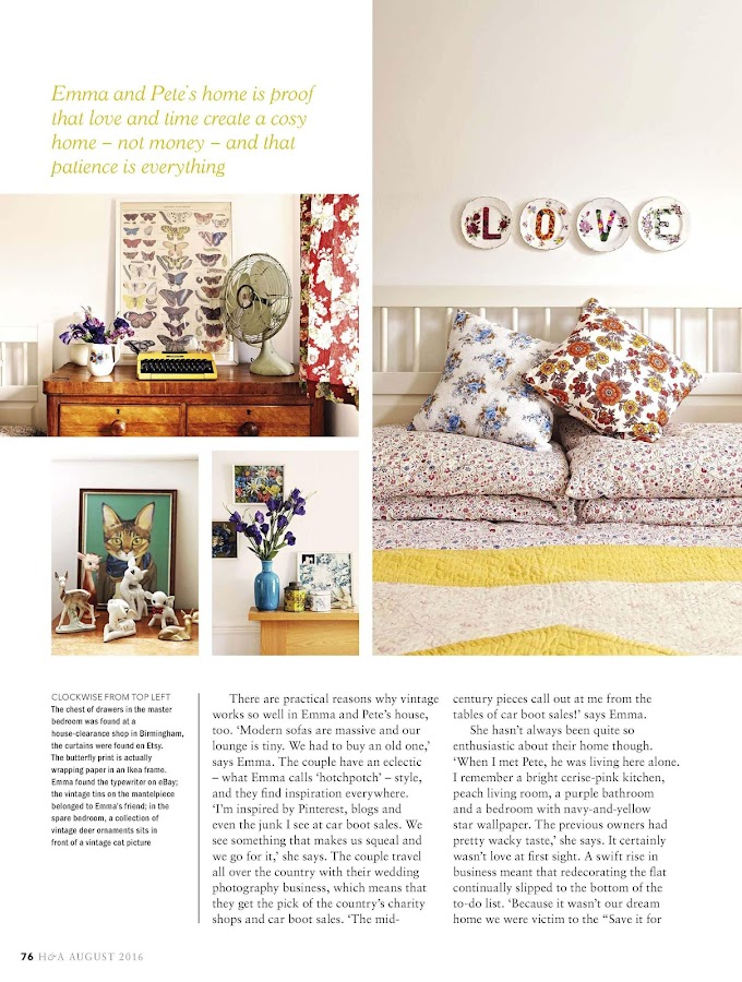 Homes and Antiques Magazine- screenshot
