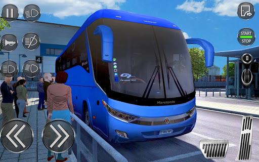 City Coach Bus Driving Simulator 3D: City Bus Game screenshots 2