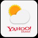 Yahoo!天気 雨雲の接近や台風進路がわかる天気予報アプリ icon