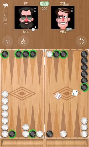 Backgammon Online  captures d'écran 1