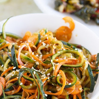 Korean Cucumber Salad and EatingWell™ Frozen Entrees Recipe