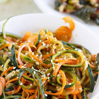 Korean Cucumber Salad and EatingWell™ Frozen Entrees.
