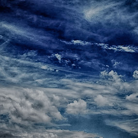 The Blue Sapphire by Asraful Emon - Landscapes Weather ( blue sky, cloudscape, space, literary heavens, azure )