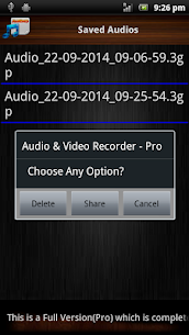 Audio and Video Recorder Lite App Download For Android 4