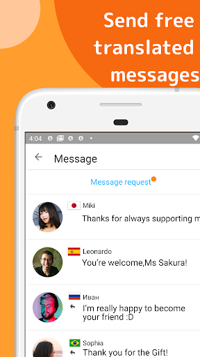 Airtripp:Free Foreign Chat 9.1.3 Screenshots 4