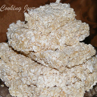 Rice Krispies Treat without Marshmallows