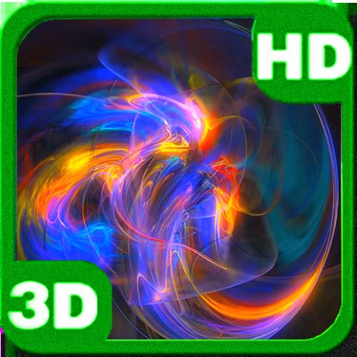 Enigmatic Plasma Whirl 3D