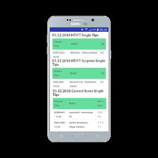 HT/FT Fixed Matches VIP 100% Screenshot