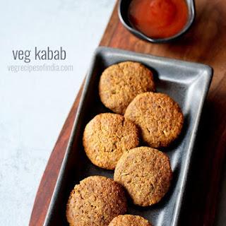 Veg Kabab - How To Make Vegetable Kabab