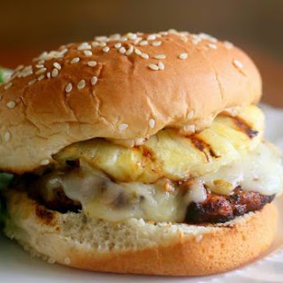 Grilled Chicken and Pineapple Burger