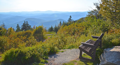Photo: View from the top of Mt Ascutney State Park by Linda Carlsen Sperry