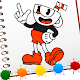 Coloring cuphead book's: Coloring Pages Game Free
