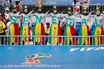 ? Dit is ook de Afrika Cup: journalisten van Senegal en Tunesië met elkaar op de vuist
