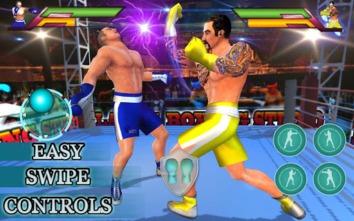 Royal Wrestling Cage: Sumo Fighting Game 1.0 screenshots 4
