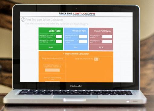 Online Business Management Training Screen
