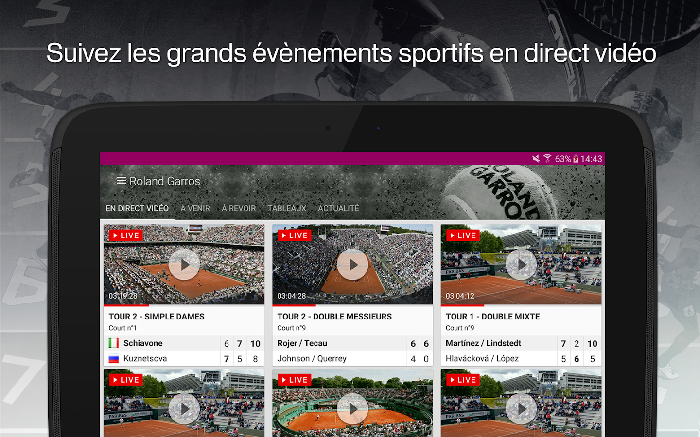 francetv sport- screenshot