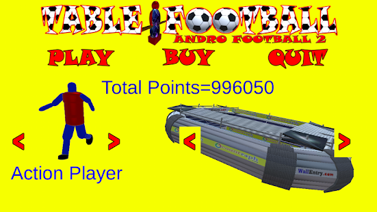 Table Football Andro Football2- screenshot thumbnail