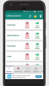 Download Lottery Ticket Scanner - Lotto Results Checker APK