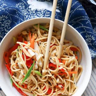Ramen Noodle Salad {vegan}.