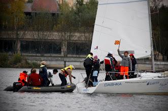 Photo: Crews changing on water  photo by Maria Guryeva
