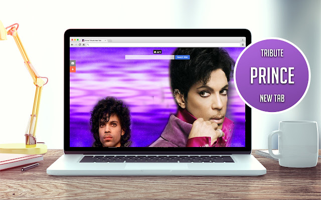 Prince Tribute New Tab