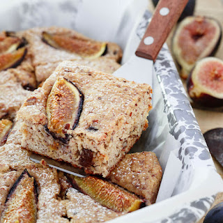 Ricotta Almond Fig Cake.