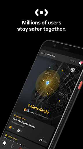 Citizen: Connect on the Most Powerful Safety App screenshots 1