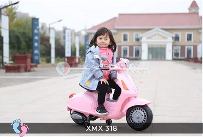 xe may dien tre em Vespa XMX-318 11